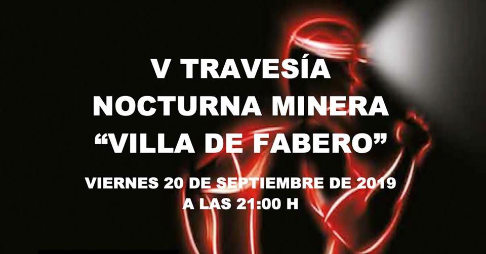 "V Travesía Nocturna Minera ""Villa de Fabero"" 1"