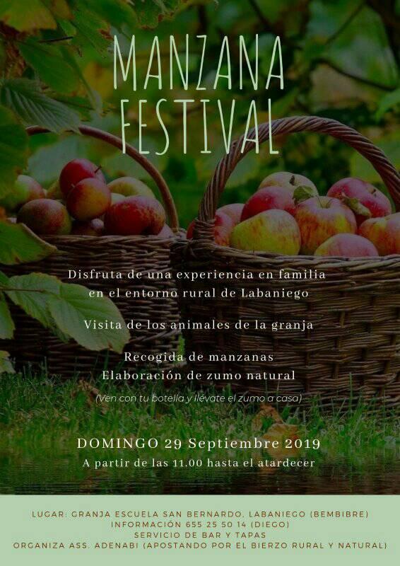 ¡Manzana Festival' en la Granja Escuela San Bernardo de Labaniego 1