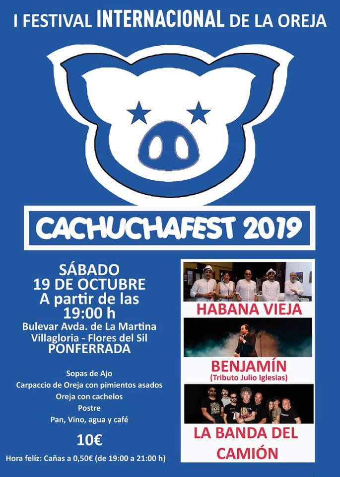 I Festival Internacional de la oreja - Cachuchafesten Flores del Sil 1