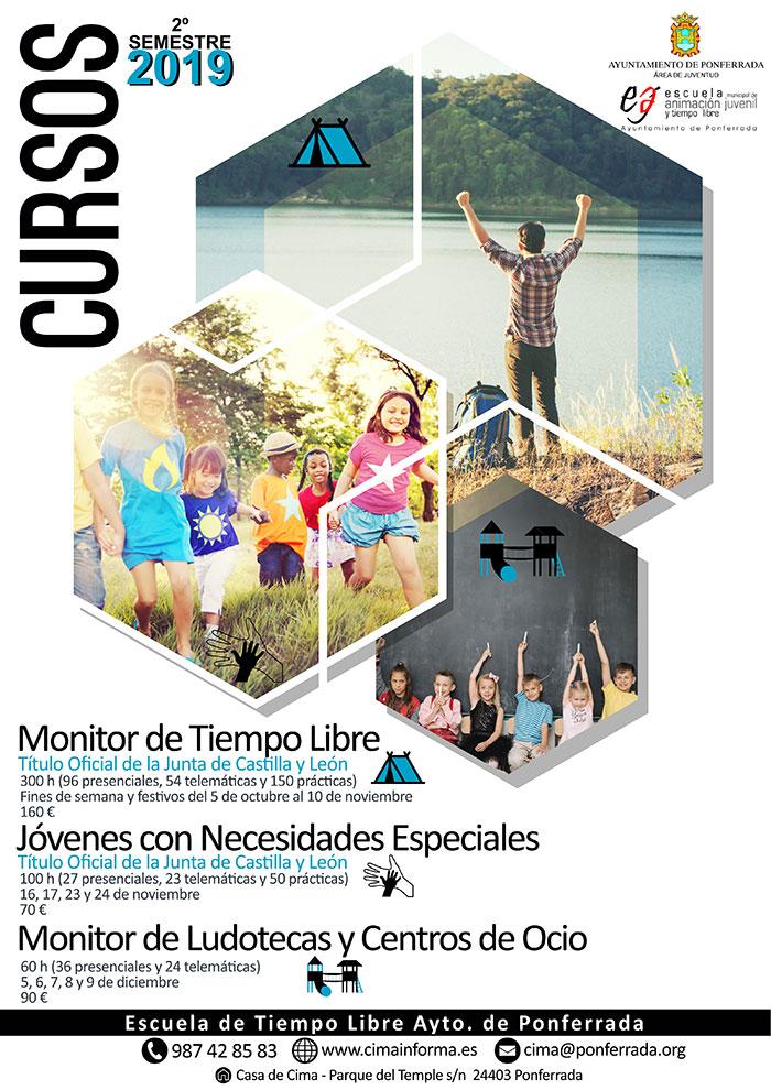El Ayuntamiento de Ponferrada pone en marcha cursos de monitores de tiempo libre 1