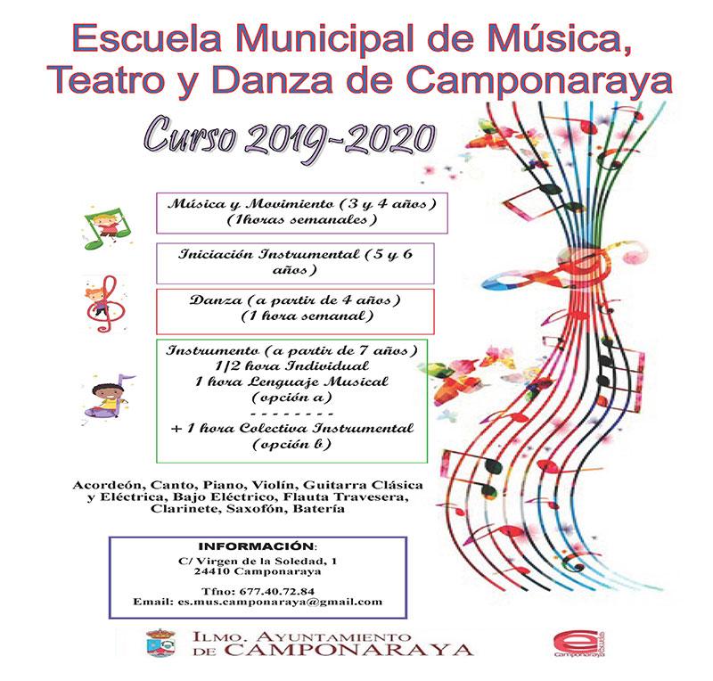 La Escuela Municipal de Música, Teatro y Danza de Camponaraya afronta un nuevo curso 1