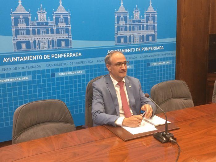 El alcalde de Ponferrada repasa los primeros días de la legislatura 1