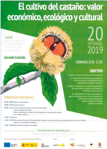 Carracedelo organiza el viernes una Jornada sobre el Cultivo del Castaño 1