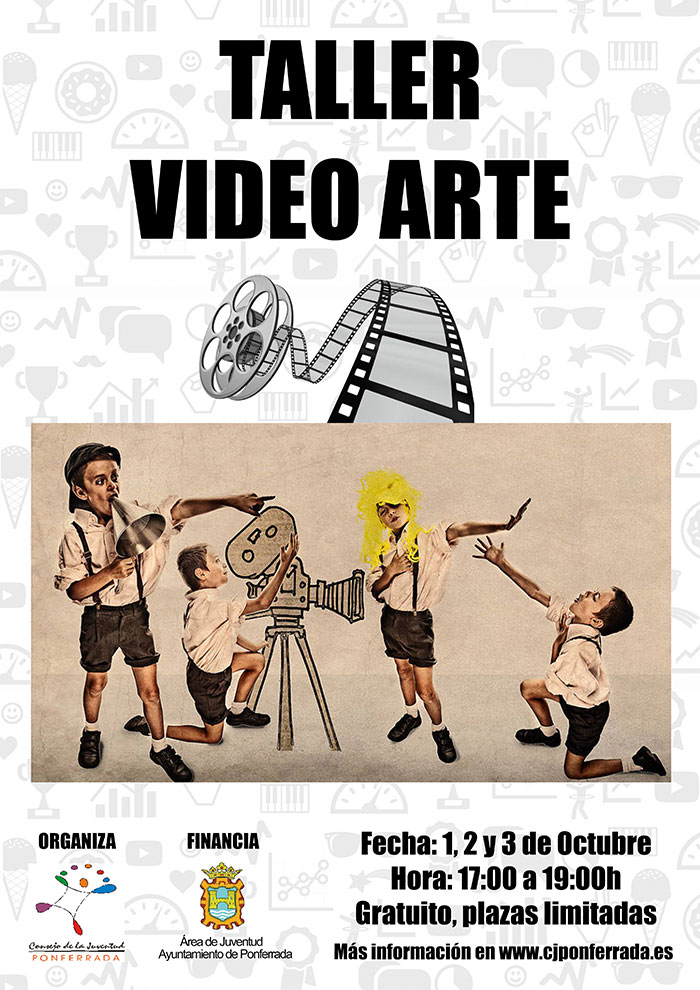 Taller de introducción a la creación audiovisual en el Consejo Local de la Juventud de Ponferrada 1