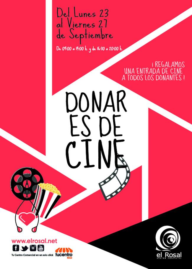 """Vuelve """"Donar es de Cine"""" al Centro Comercial El Rosal 1"""