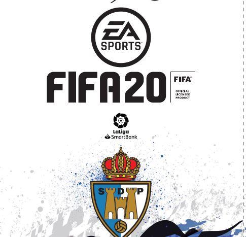 Si ya tienes FIFA 20, ahora puedes poner tu carátula personalizada con la Ponferradina 1