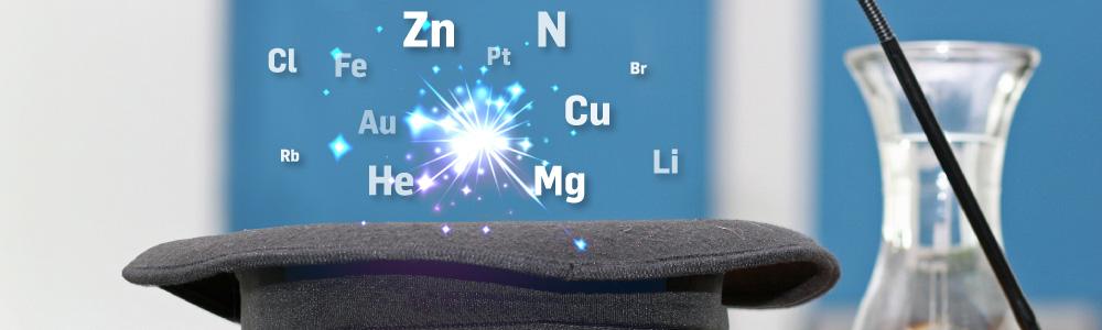 El Museo de la Energía organiza el taller: Los magos de la tabla periódica 1