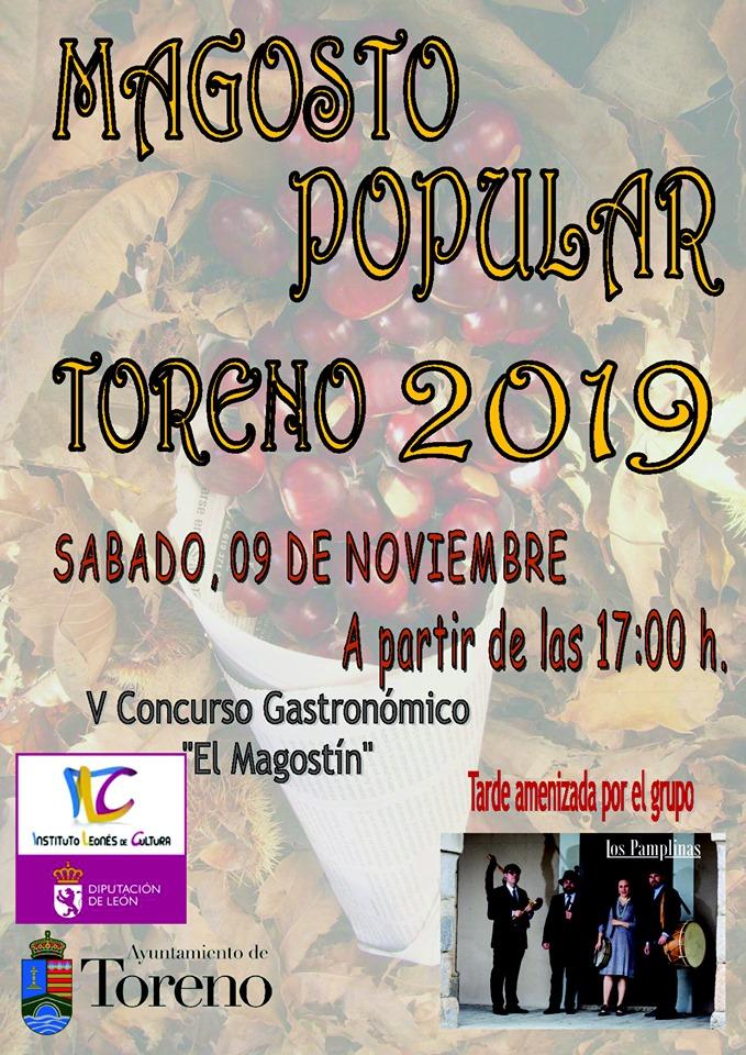 Magosto Popular en Toreno. 9 de noviembre 2019 1