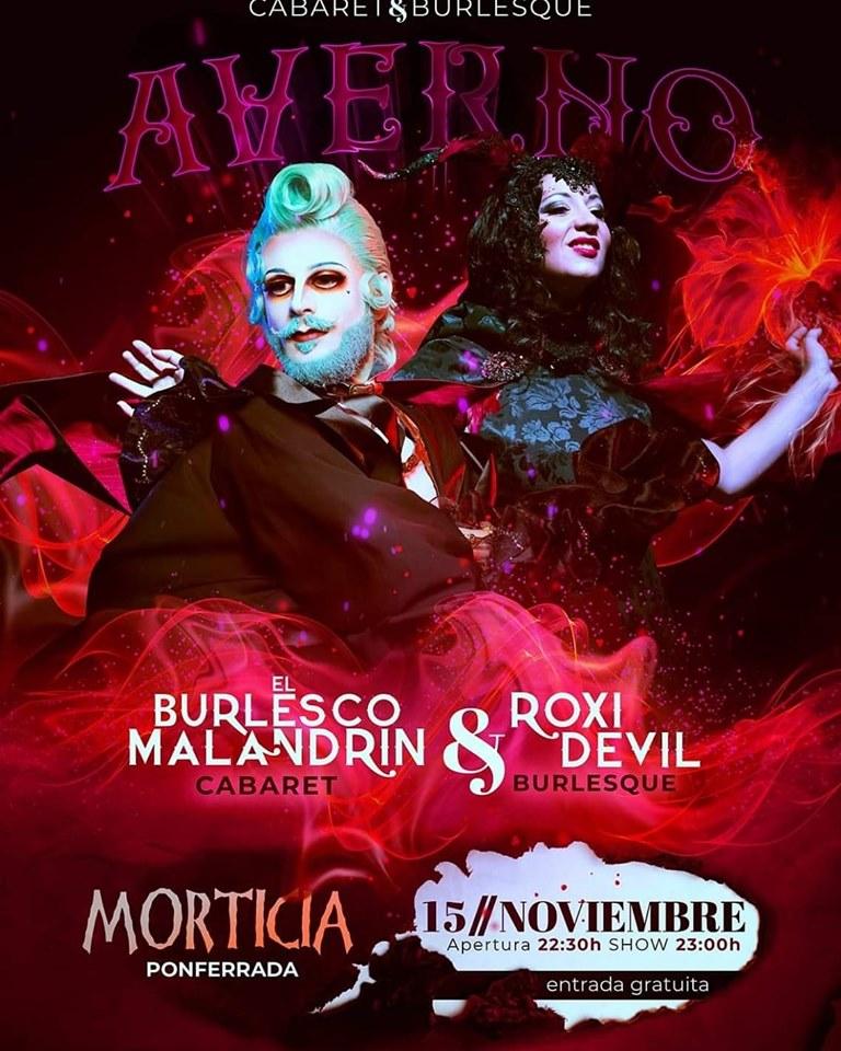 Cabaret & Burlesque en Morticia 1