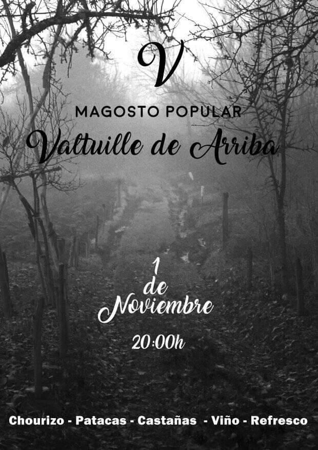 Magosto Popular en Valtuille de Arriba. 1 de noviembre 2019 1