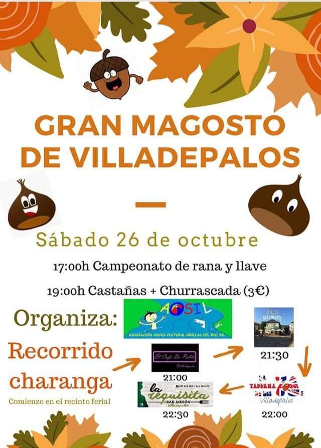 Gran magosto en Villadepalos. 26 de octubre 2019 1