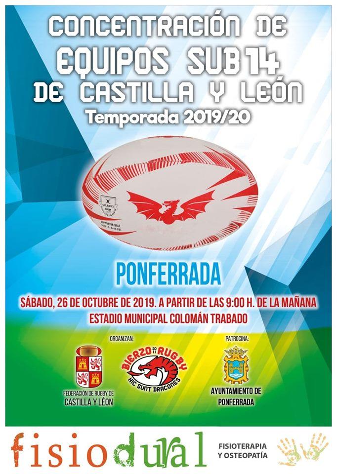Concentración de equipos Sub 14 de Castilla y León 1
