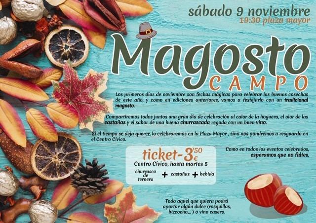 Gran Magosto popular en Campo. 9 de noviembre de 2019 1