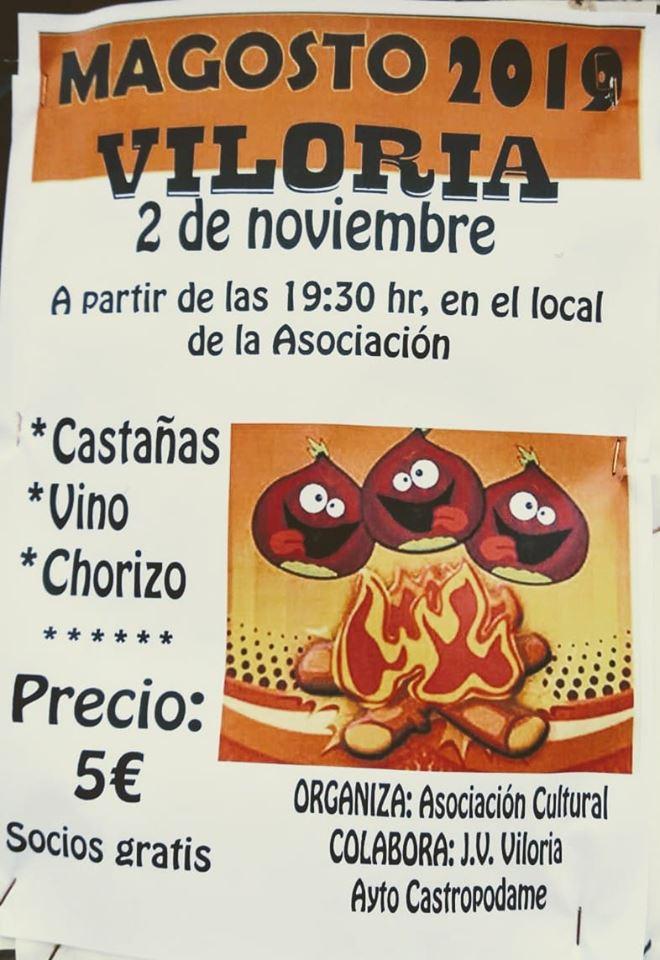 Gran Magosto en Viloria. 2 de noviembre 2019 1