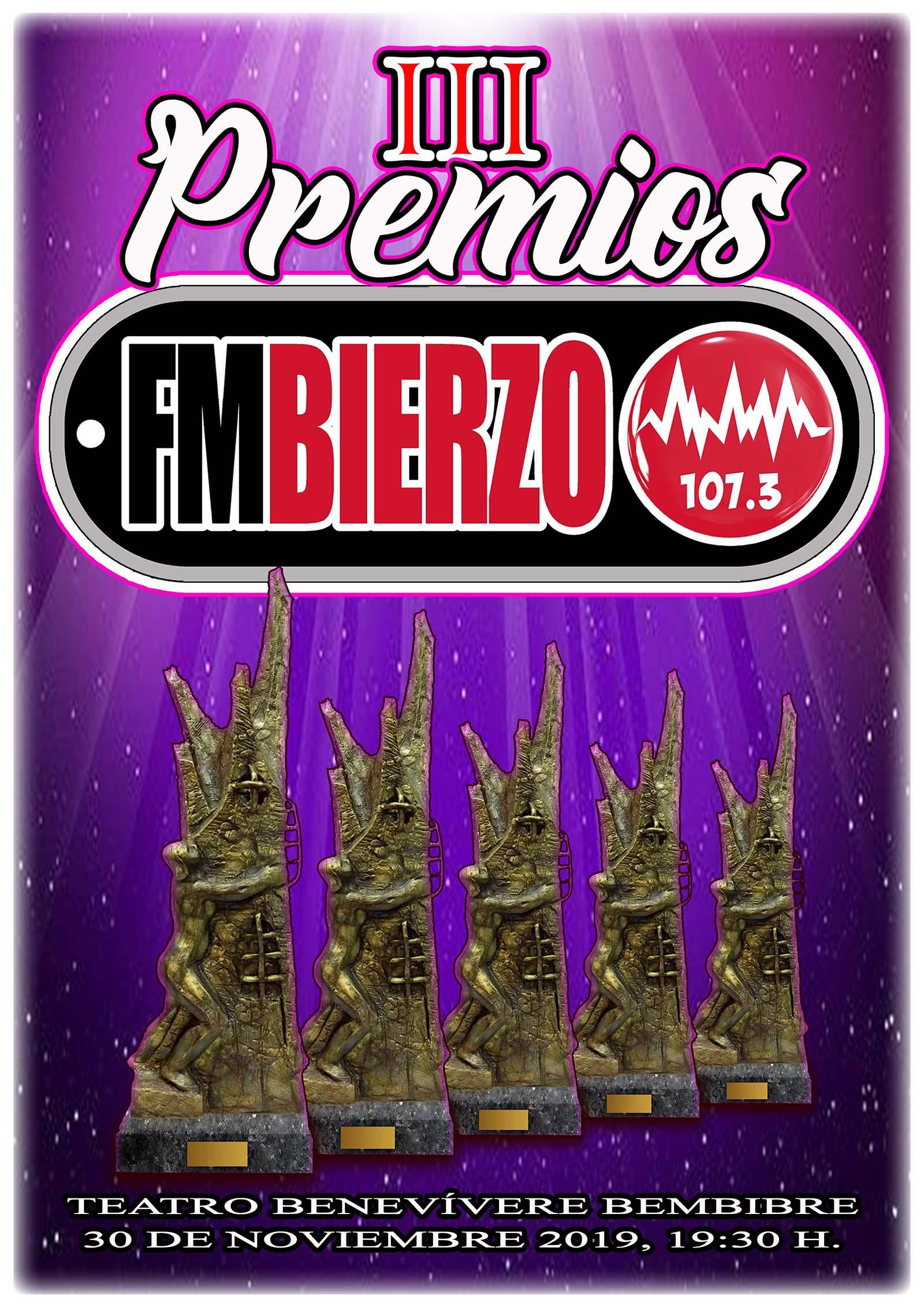 La emisora FM Bierzo celebra la tercera edición de su premios que premian la labor de talentos de la comarca 1