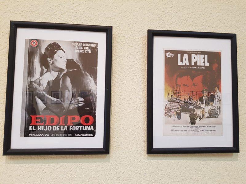 Exposición de Carteles de cine italiano en la Casa de la Cultura de Ponferrada 1