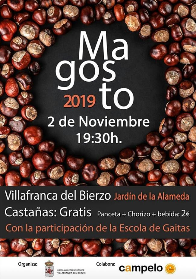 Gran magosto en Villafranca del Bierzo. Sábado 2 de noviembre 1