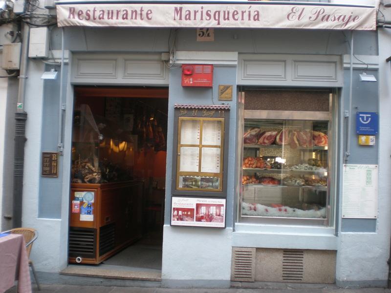 Reseñas gastronómicas: Restaurante El Pasaje en Santiago de Compostela 1