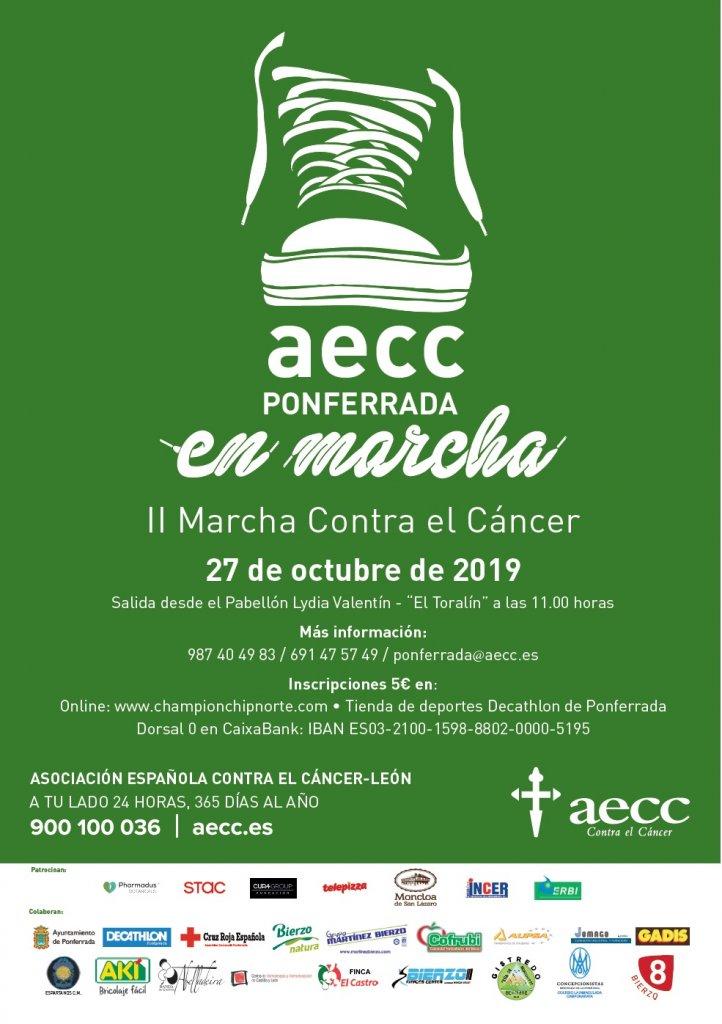 """Segunda edición de """" AECC Ponferrada en Marcha """" 1"""