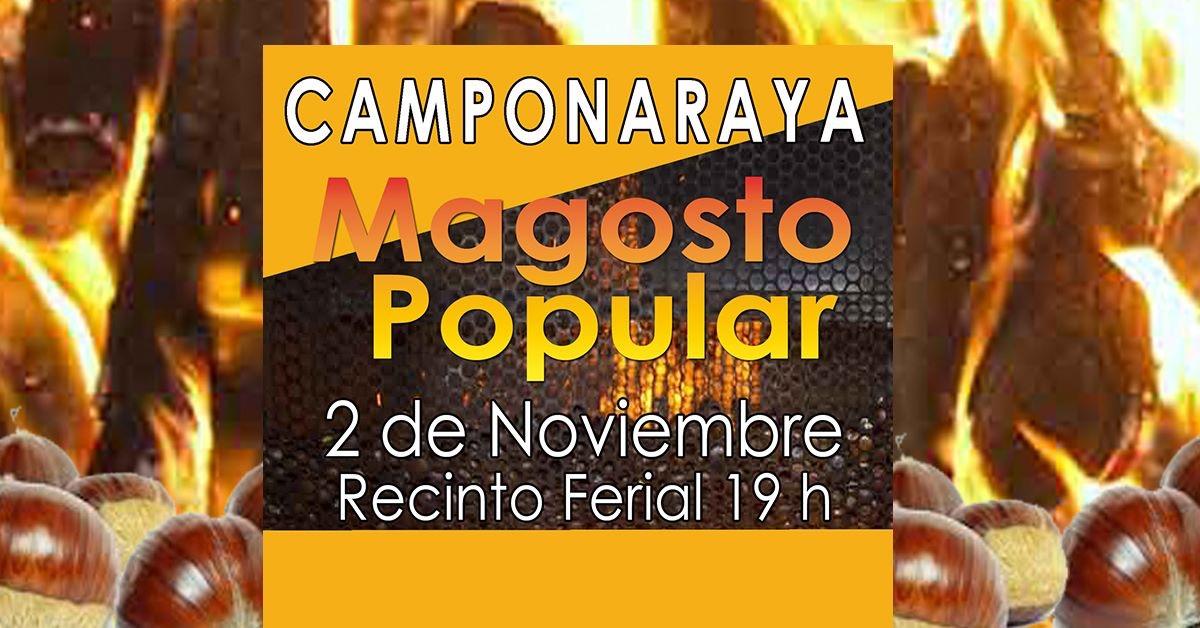 Gran Magosto Popular en Camponaraya. 2 de noviembre 2019 1