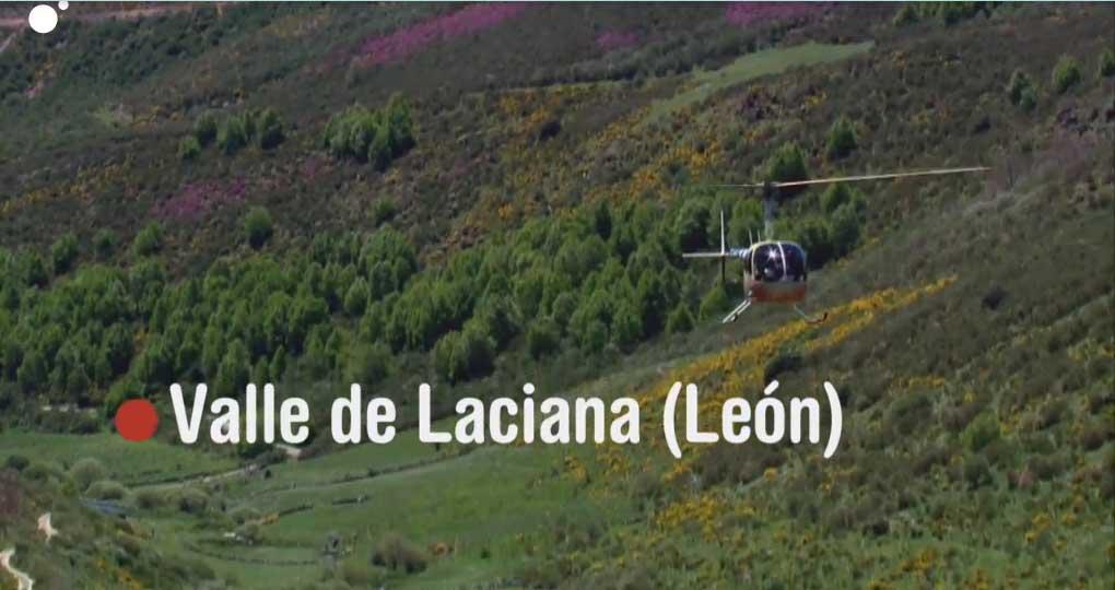 El programa 'Volando Voy' de Jesús Calleja arranca la temporada desde el Valle de Laciana en compañía de Mercedes Milá 1