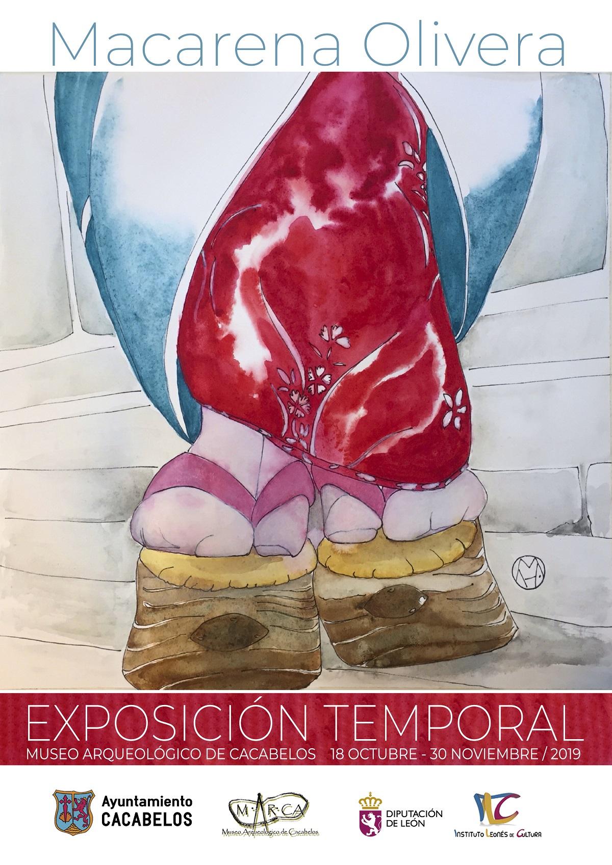 El Museo Marca de Cacabelos acoge la exposición temporal: Geishas de Macarena Olivera 1