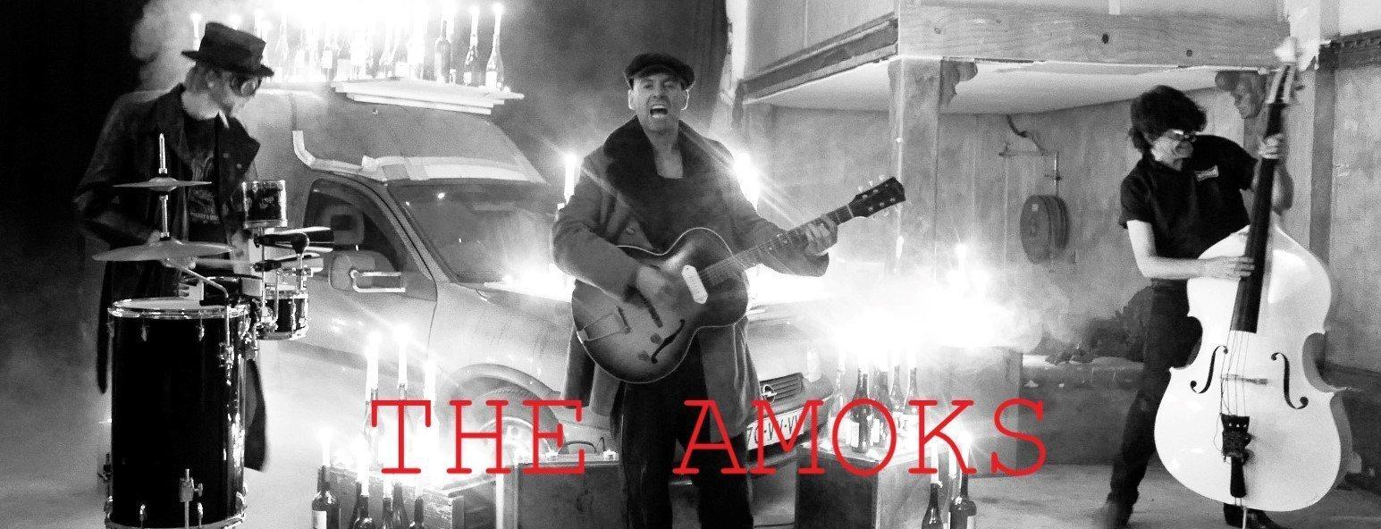 Concierto de The Amoks en Morticia 1