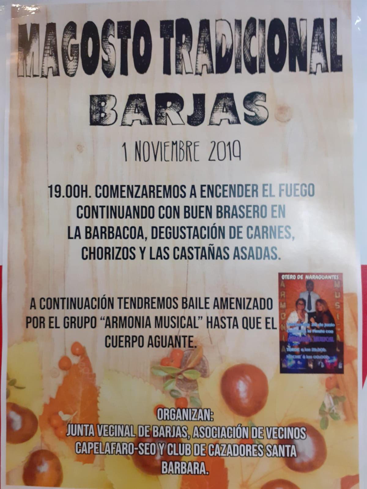 Gran Magosto en Barjas. 1 de noviembre 2019 1