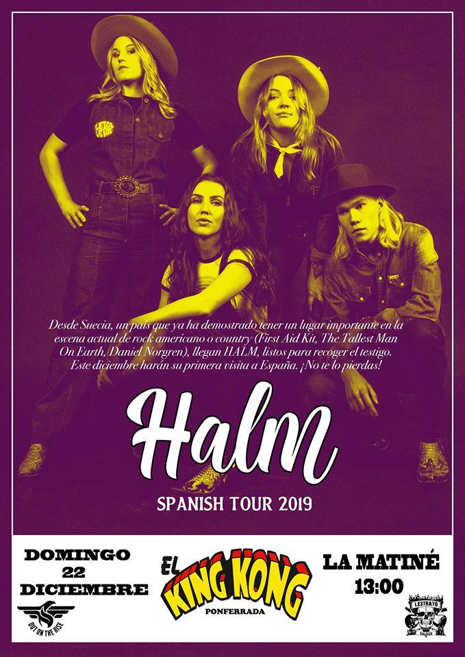 Concierto de la banda country sueca 'Halm' en El King Kong 1