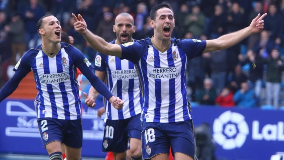 La SD Huesca espera a una Ponferradina imbatida en las últimas siete jornadas 1