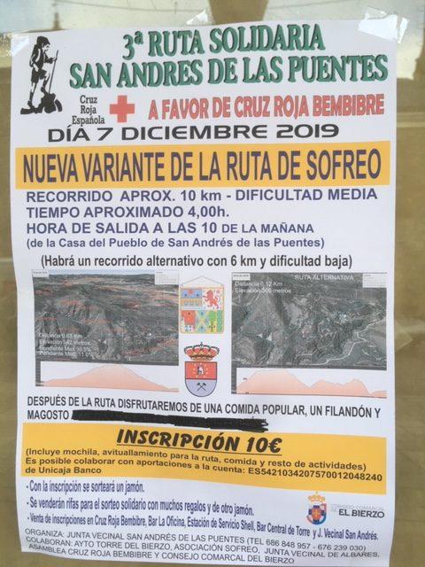 3ª Ruta solidaria San Andrés de las Puentes 1