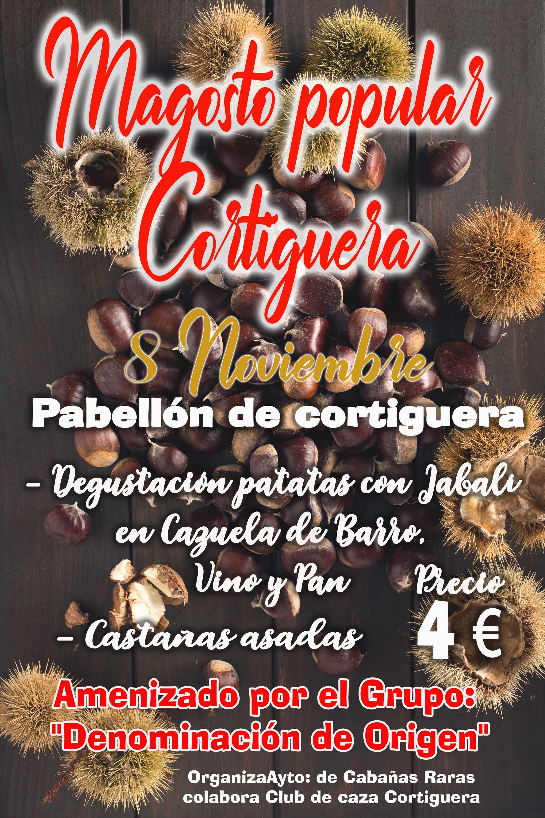 Gran Magosto popular en Cortiguera. 8 de noviembre 2019 1