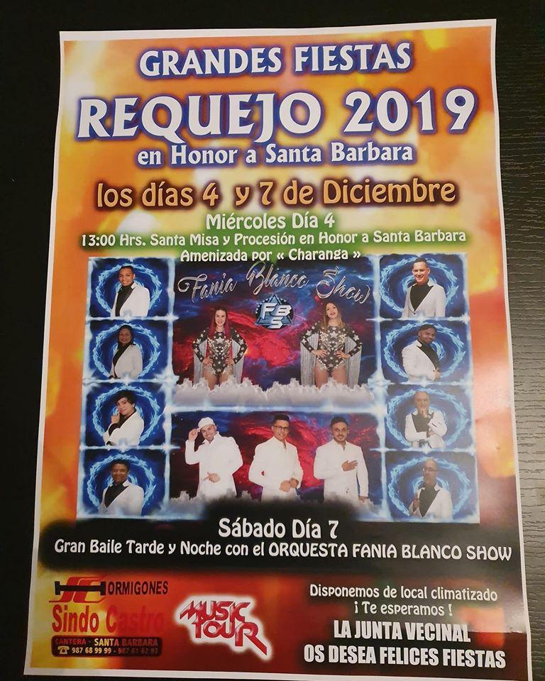 Requejo también celebra Santa Bárbara el 4 y 7 de diciembre 1