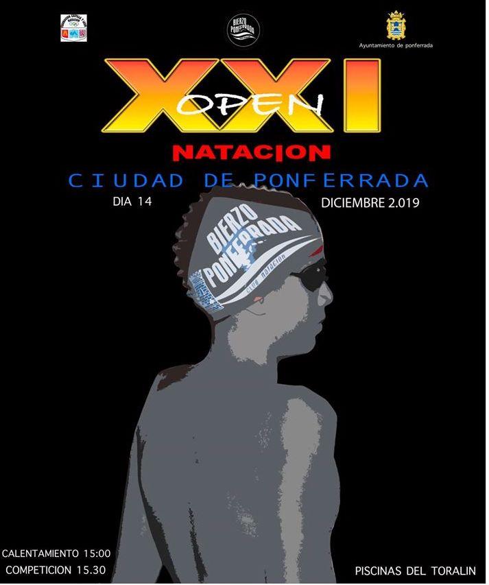 XXI Open Natación Ciudad de Ponferrada 1