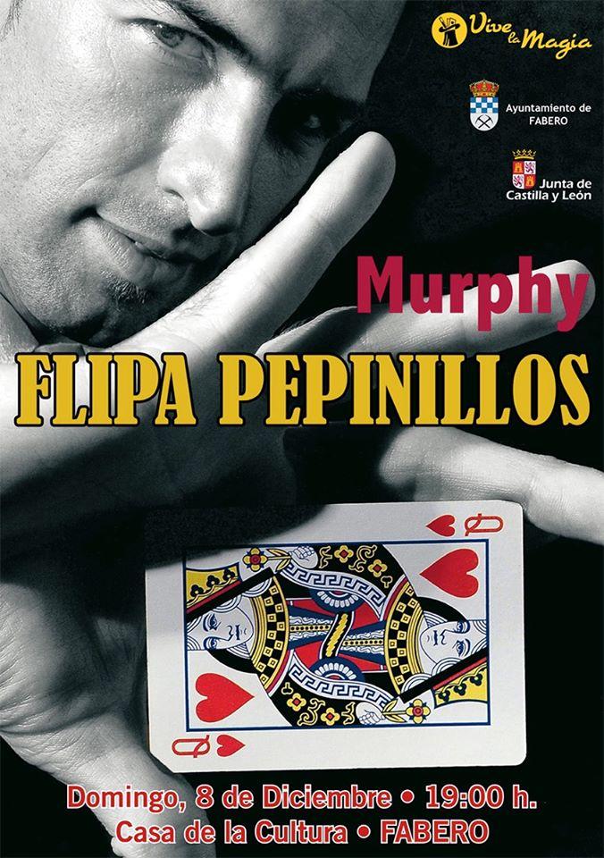 Magía en Fabero: 'Flipa Pepinillos' Mago Murphy 1