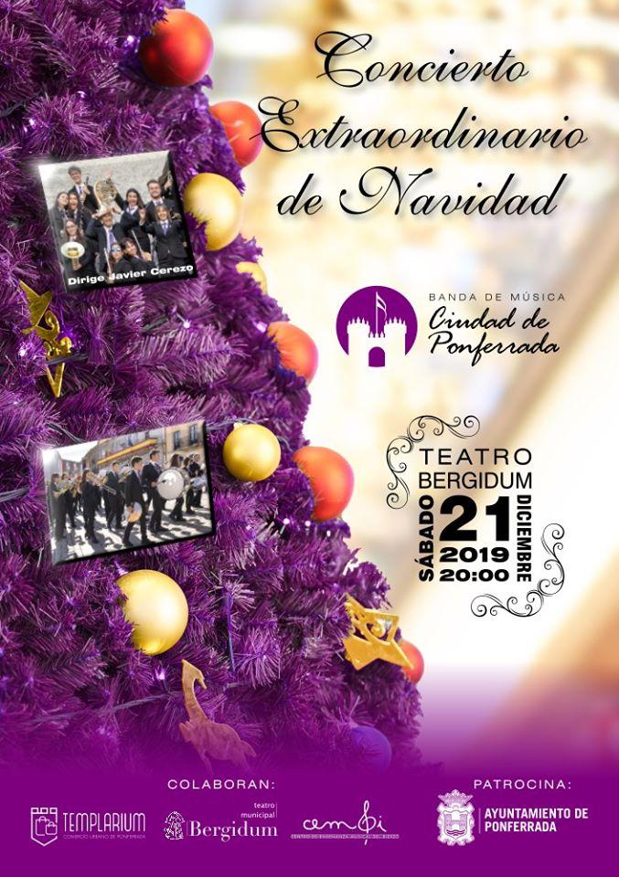 Concierto de Navidad de la Banda de Música Ciudad de Ponferrada 1