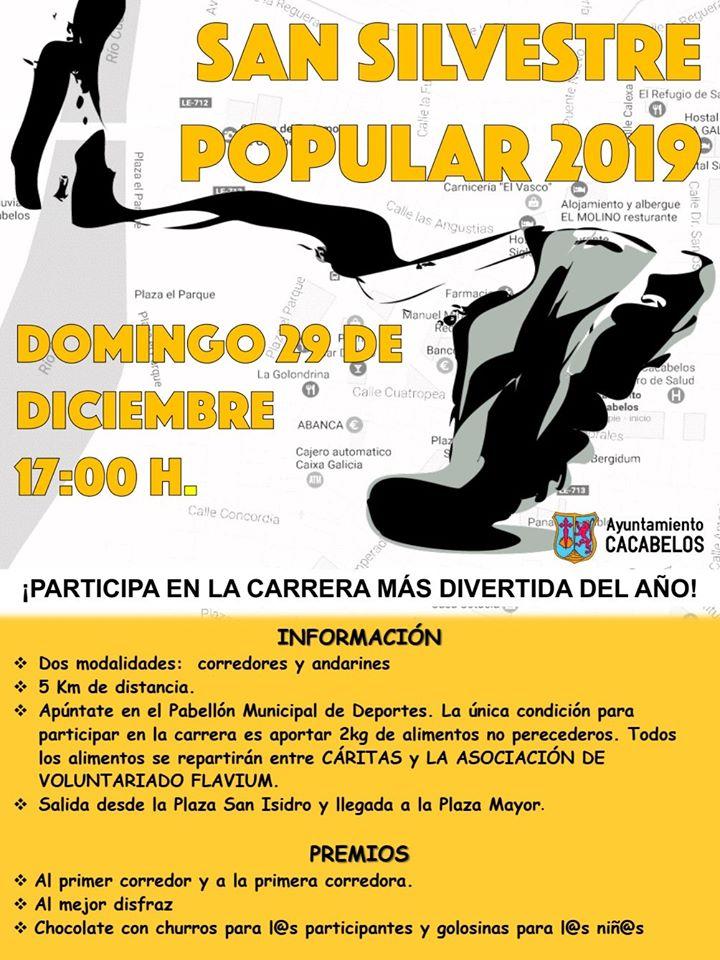 San Silvestre Popular 2019 en Cacabelos 1