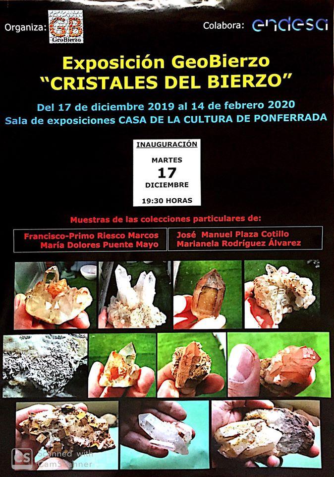 """Exposición Geobierzo """"Cristales del Bierzo"""" 1"""