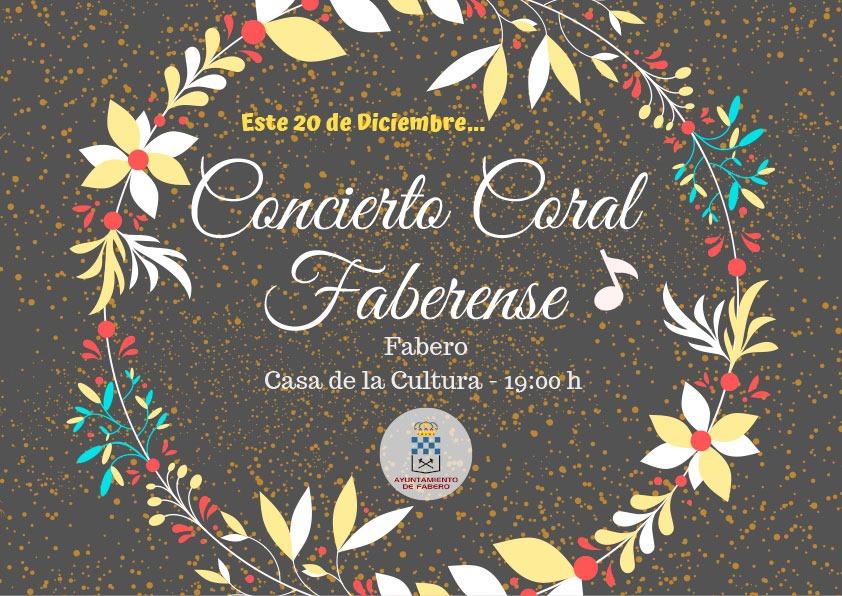Concierto de la Coral Faberense 1