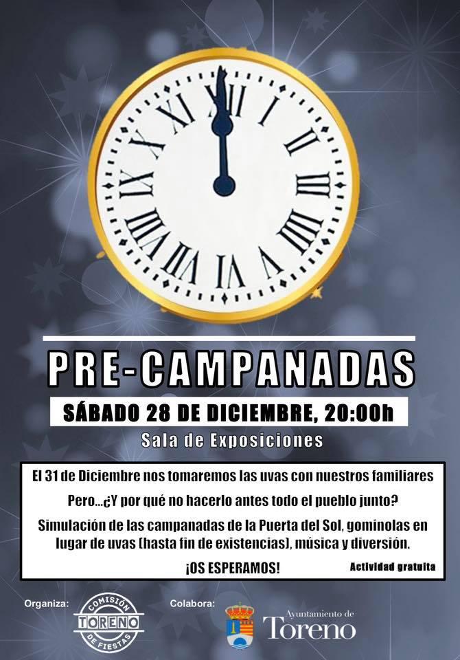 Toreno organiza este sábado unas pre-campanadas de fin de año 1
