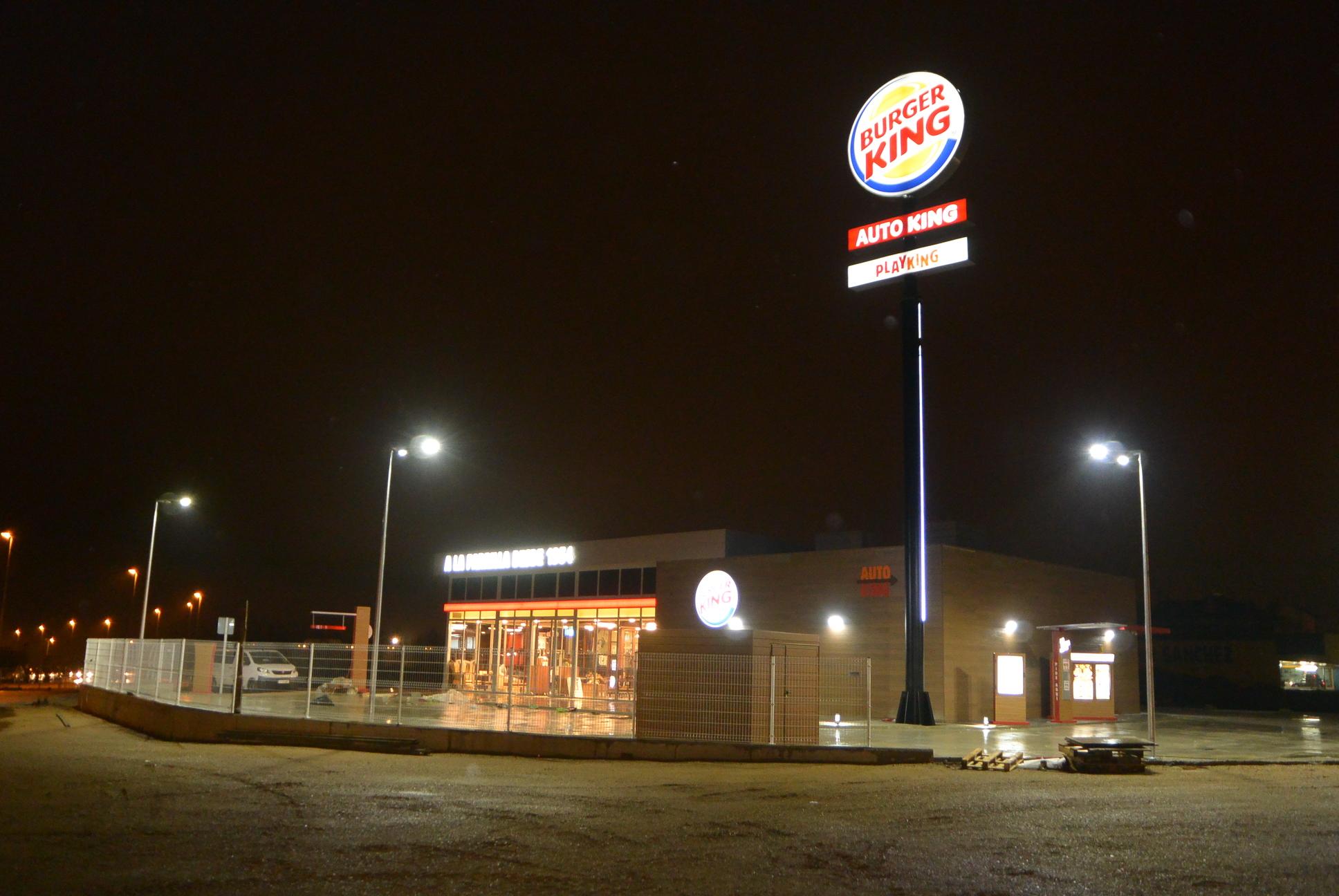 El Burger King de Cuatrovientos abrirá previsiblemente el 26 de diciembre 1