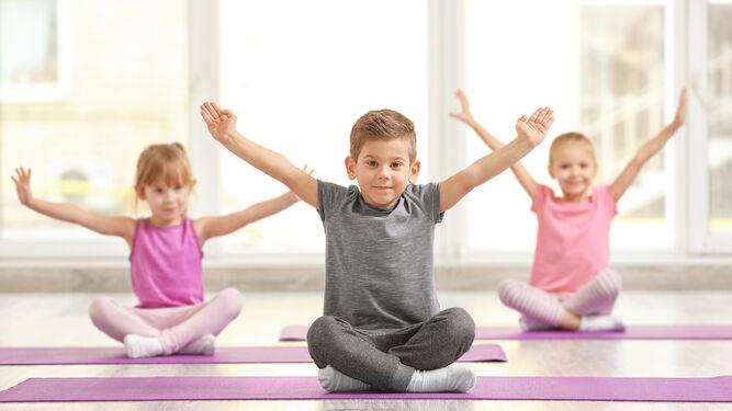 Clínica Barrientos organiza un taller de Yoga para niños 1