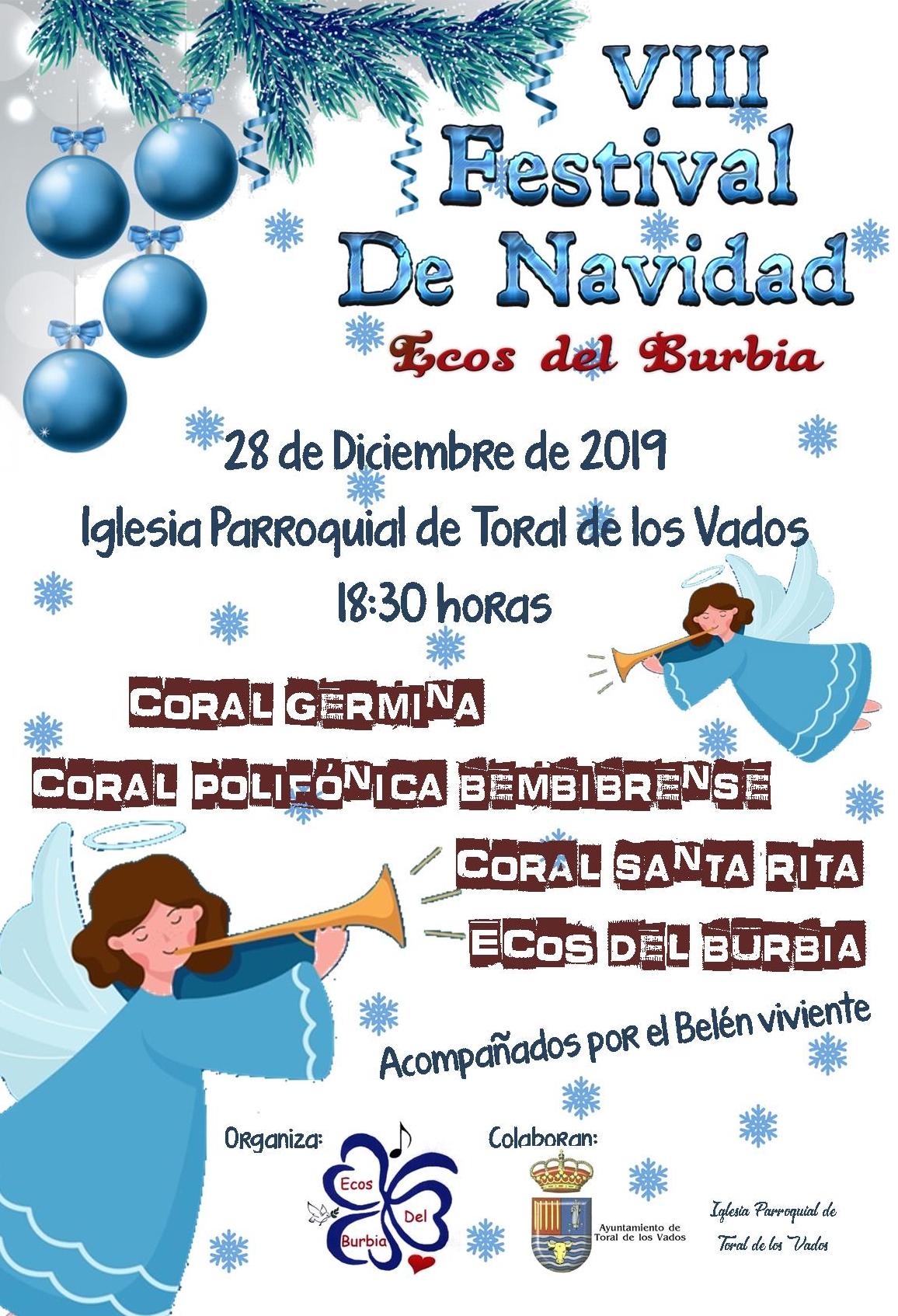 VIII Festival de navidad Ecos del Burbia 1