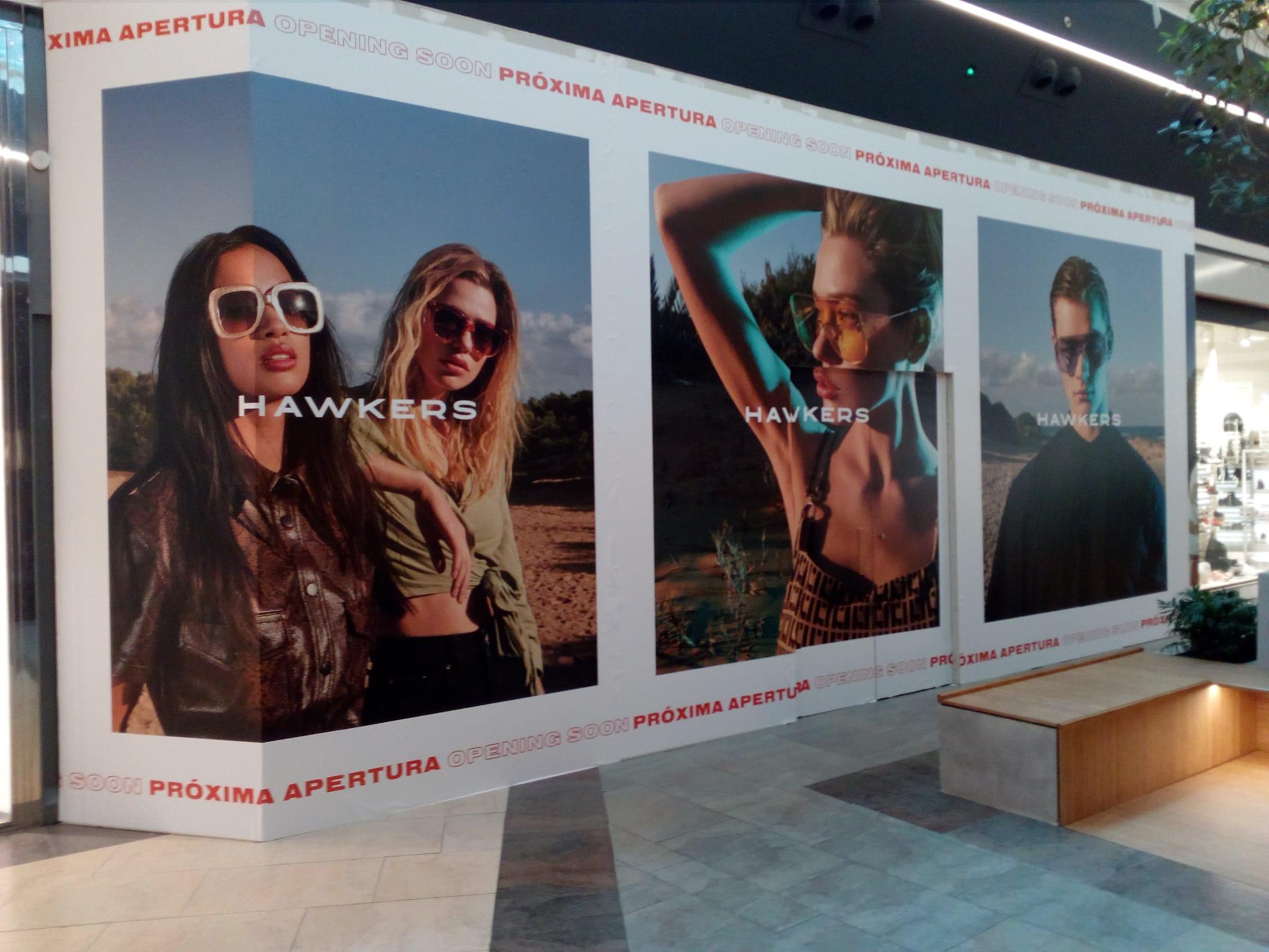 La marca de gafas Hawkers desembarca en el Centro Comercial El Rosal 1