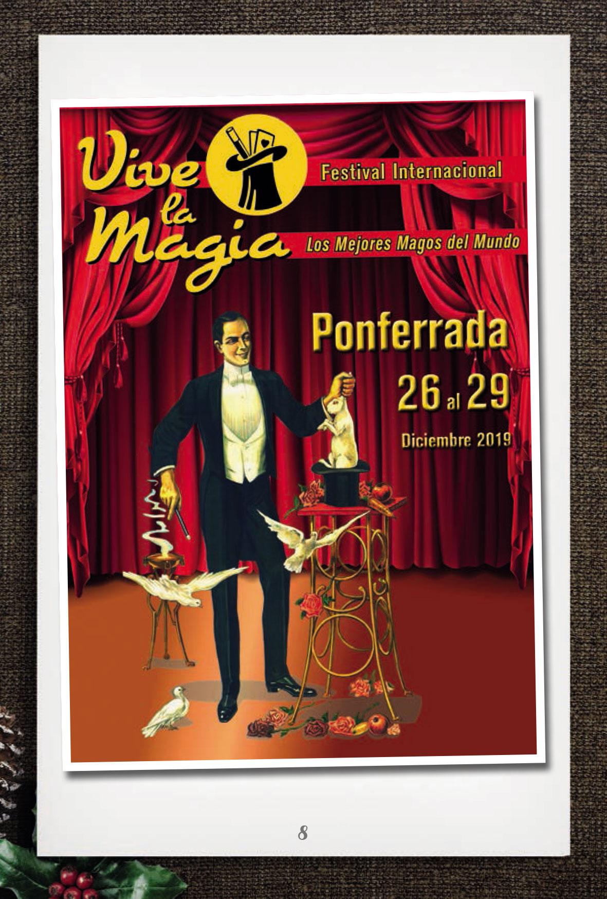 La programación de Navidad en Ponferrada incorpora la magia en la calle como actividad más novedosa 1