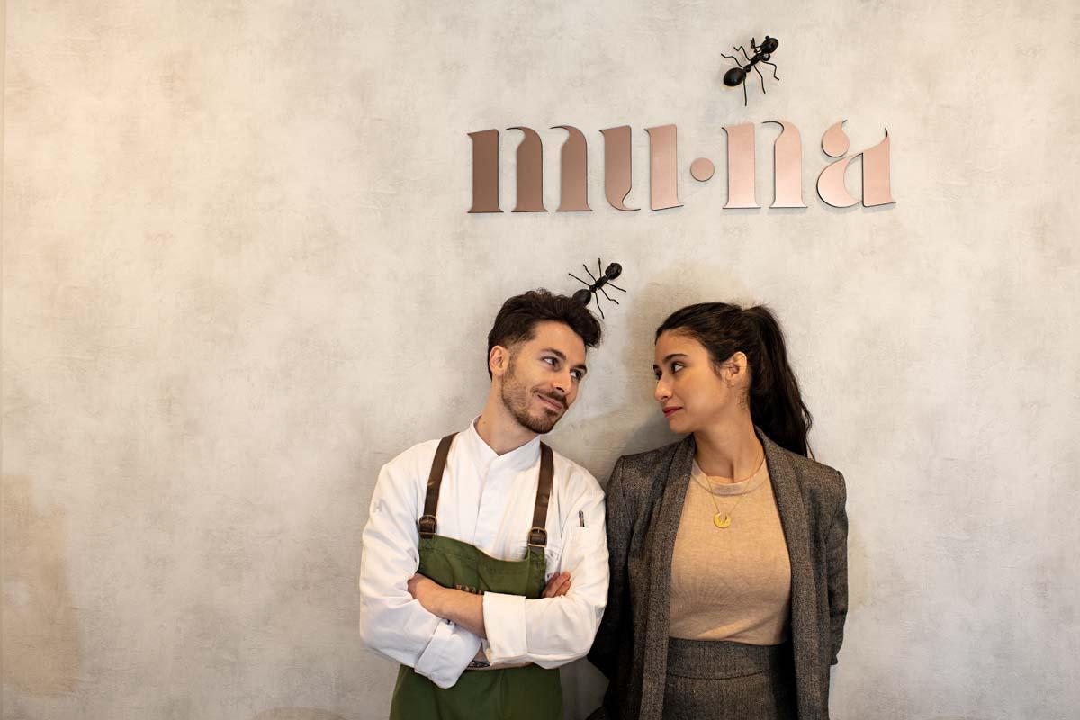 Los bercianos Samuel Naveira y Génesis Cardona, del restaurante MU-NA, candidatos a cocinero revelación 2020 en Madrid Fusión 1