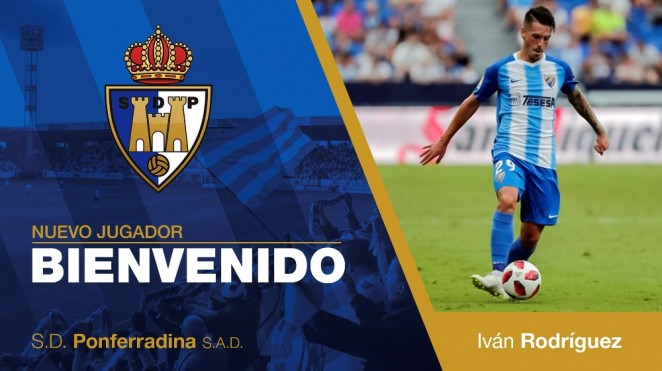 El malagueño Iván Rodríguez se incorpora a la SD Ponferradina. Yac al Getafe B 1