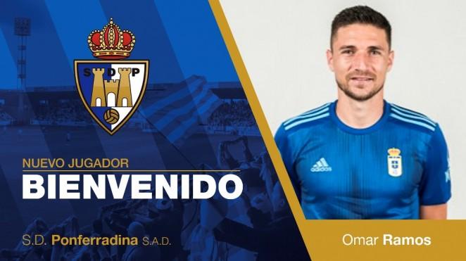 OFICIAL: Omar Ramos, nuevo jugador de la Ponferradina 1