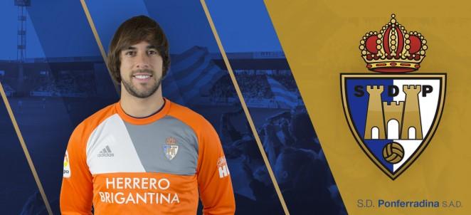 ¡Bye Caro! El Valladolid recupera al portero de la Ponferradina 1