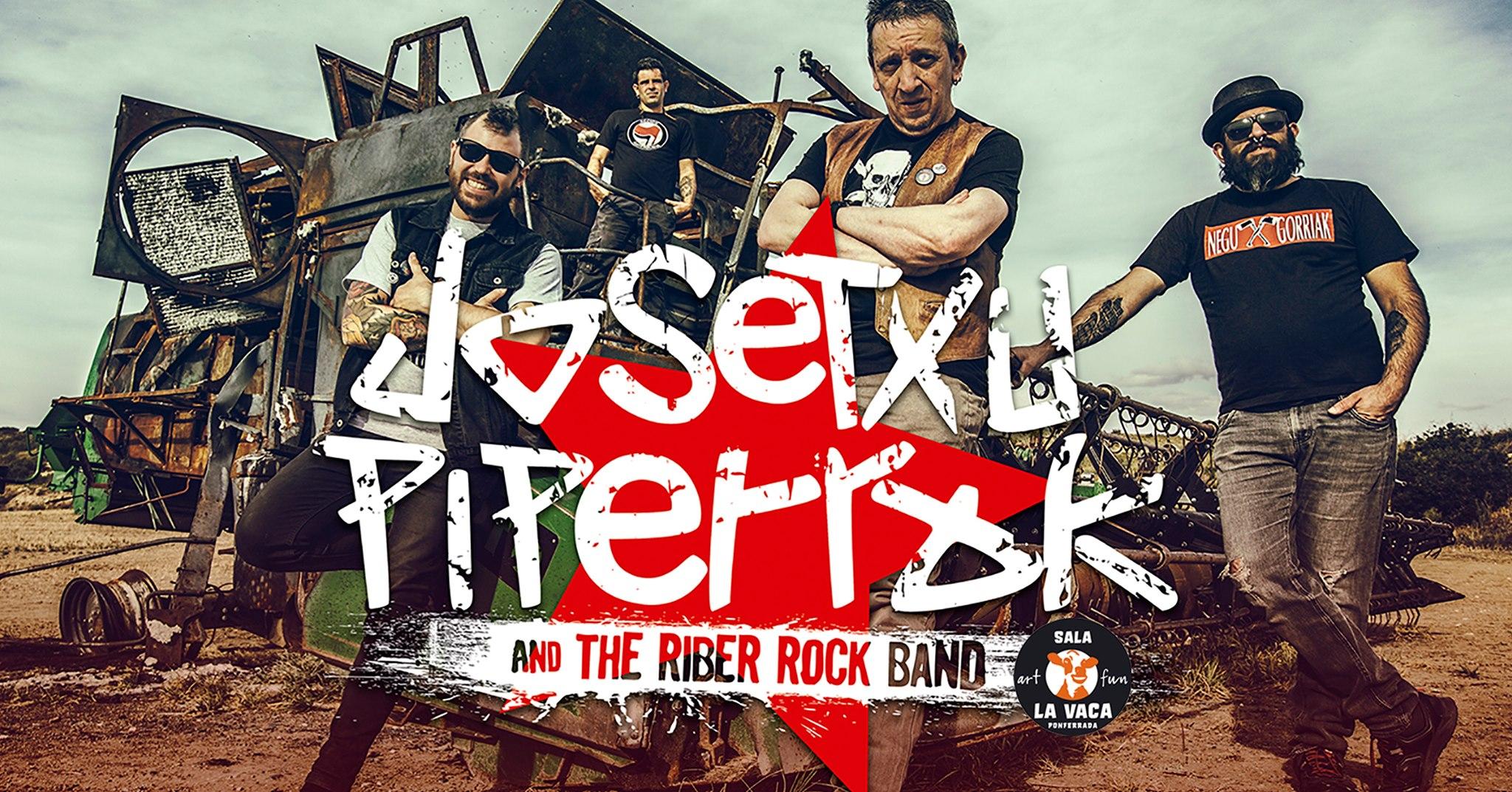 Concierto de Josetxu Piperrak & the Riber Rock Band en Ponferrada 1